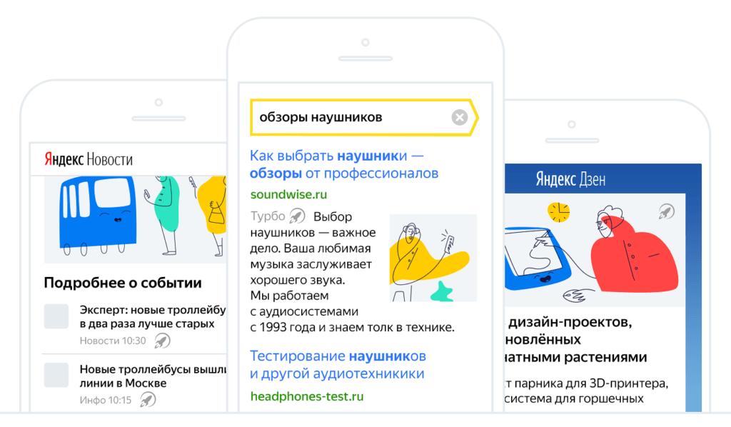 Яндекс Вебмастер - турбо страницы